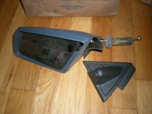 Nos 1982 Ford Mustang Outer Remote Mirror Asy Lh E2zz 17696 a