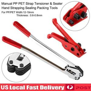 Heavy Duty Tensioner Sealer Pet pp Manual Strapping Tools Packing Machine Set