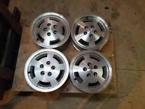 4 Amc Eagle Sprint Spirit Concord Factory Rally Mags Wheels 15x6 Oem