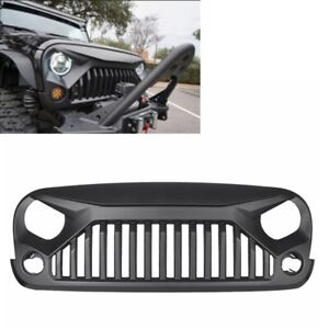 Front Angry Bird Grill Grille For Jeep Wrangler 2007 2017 Jk Unlimited