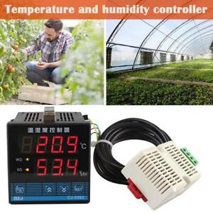 Digital Temperature And Humidity Controller W sensor For Greenhouse Cultivation