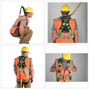 Lineman Safety Harness Vest Body Fall Protection Snap in Climbing Tree Stand