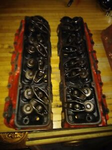 Sbc 327 Small Block Chevy 462624 Cylinder Heads