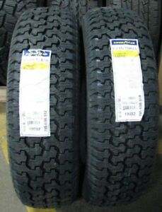 2 New Goodyear Wrangler Radial 235 75r15 105s Dot 2018 Tread Depth 14 32