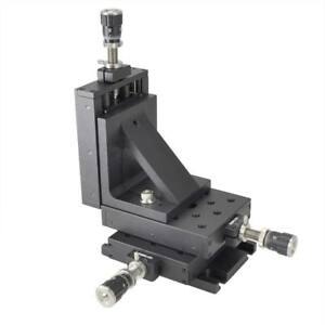 Thorlabs Pt3a 1 Inch Xyz Translation Stage With Dm12 Differential Micrometers