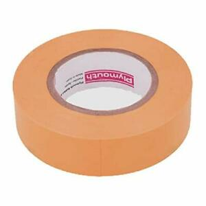 Plymouth 3904 Orange Vinyl Weather Resistant Electrical Tape Lead Free 3 4 X 60