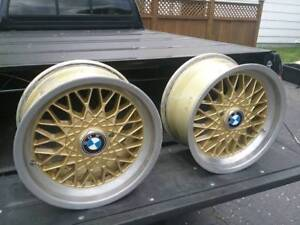 Bmw Act 16x8 5 Et10 5x120 16 Inch Bbs Style Basketweave 2 Rims Available