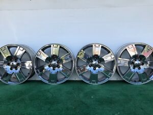 2007 11 Ford Expedition 20 Genuine Factory Oem Chrome Clad Wheels Rims Set