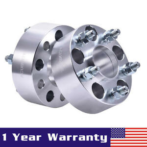 2 Pcs Wheel Spacers Adapters 5x4 5 2 For Nissan 350z 370z Infiniti Altima Q45