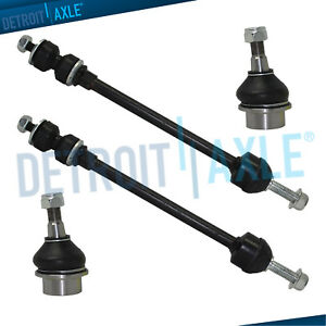 2002 2003 2004 2005 Dodge Ram 1500 Front Lower Ball Joints Sway Bar Links 4wd