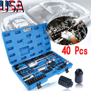40pcs set Common Rail Diesel Injector Extractor Puller Remover Master Tool Kit