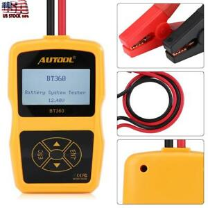 Hot Sale Automotive Load Battery System Tester Digital Analyzer Cell Test Tool