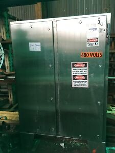Hoffman Stainless Steel Electrical Enclosure 48 Wide X 60 Tall X 12 Wide