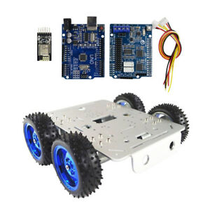 Car Tank Chassis Kit Wifi Control Kit 4wd Motors For Arduino Free Tools