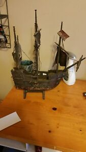 Antique Wooden Ship Model Make An Offer That You Think It S Worth