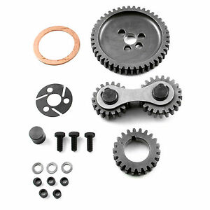 Scorpion Small Block Chevy Timing Gear Drive Dual Idler Sbc 327 350 383 400 406