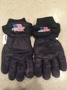 Honeywell Kangaroo Leather Super Glove Size Medium Firefighter Turnout Nfpa Nwot