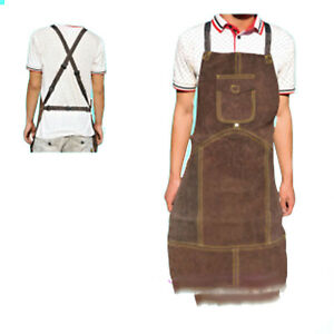 Welding Apron Heat Insulation Cow Leather Cowhide Welder Protection
