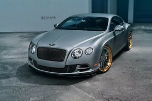 Strasse Forged Wheels Bentley Continental Gt Sv1 Deep Concave Fs