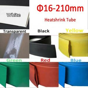 Heatshrink Tube Heat Shrink Tubing Wire Sleeving Wrap 2 1 16 18 2022 25mm 210mm