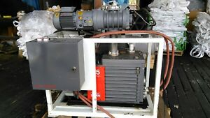 Edwards Two Stage Rotary Vacuum Pump Model E2m 175