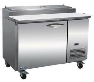 Ikon Kpp44 Pizza Prep Preparation Table 1 Section 47 2 5 w With 6 1 3 Gn Pans