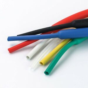 1 6mm Heatshrink Tube Heat Shrink Tubing Adhesive Glue Lined Waterproof 3 1