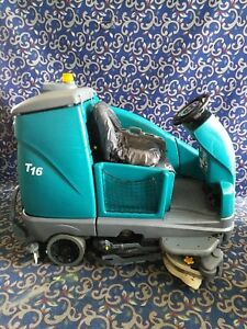 Tennant T16 40 Ride On Floor Sweeper Scrubber With Free Shipping