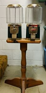 Silent Sales Force Ssf Gumball Machines With With Duel Stand And Locks Keys