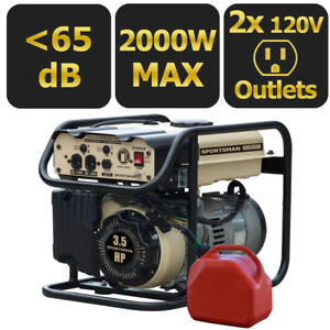 Sportsman Sandstorm 2000 w Portable Gas Powered Generator Home Backup Rv Camping