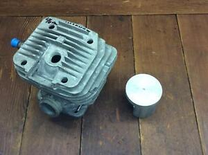 Wacker Dolmar Makita Oem Used 46 Mm Piston And Cylinder 1035 7312 6212 7311