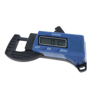Electronic Lcd 0 12 7mm Thickness Caliper Carbon Fiber Micrometer Guage