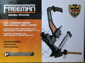Freeman Pfl618c Professional 3 In 1 Flooring Nailer