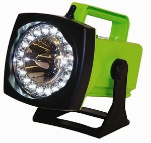 Sho me Spot flood Led Rechargeable Light Ac Charger house Plug in