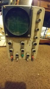 Heatkit Laboratory Oscilloscope Model 10 18
