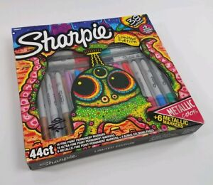 Sharpie Permanent Markers 44ct Multicolor limited Edition