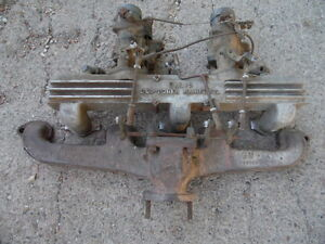 216 235 261 Ellis Chevy Intake Exhaust Carbs Speed Part