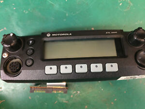 Xtl 2500 Mobile Control Head With Remote Mount Kit With New Mic