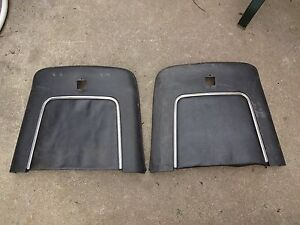 1968 1969 1970 Buick Riviera Gs Power Strato Bench Seat Plastic Back Trim Panels