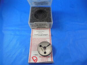 New Vermont 5 16 24 Unf 3a Left Hand Thread Ring Gage 3125 No Go Only Pd 2827