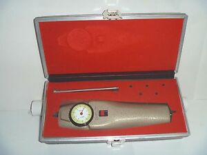 Chatillon Dpp 1 Force Gauge Made In Usa Vintage With Original Molded Case