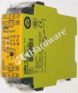 New Sealed Pilz Pnoz Xv1p 3 24vdc 2n o 1n o T Safety Relay standalone Qty