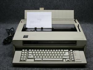Vintage Ibm 5441 Wheelwriter 5 Type 674x Electric Typewriter No Ribbons tested