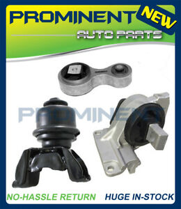 Engine Motor Trans Mount Set For 2006 2009 Ford Fusion Mercury Milan 2 3l 3 0l