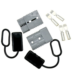 Starside Battery Quick Connector Kit 175a 1 0awg Plug Connect Disconnect Winch