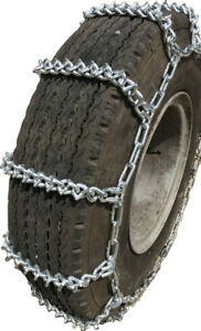 V Bar Snow Chains 225 70r19 5 225 70 19 5 Extra Heavy Duty V Bar Tire Chains