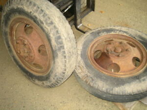 1947 1950s Chevrolet Pickup Wheels And Tires 3800