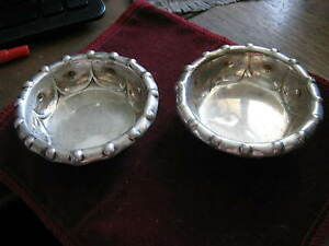 Pair Of Sterling Master Open Salts Dominick Haff For Bigelow Kennard Co 34