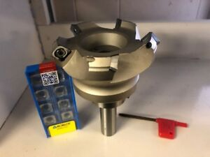 2 1 2 45 Degree Indexable Face Shell Mill 3 4 Straight Shank Face Milling