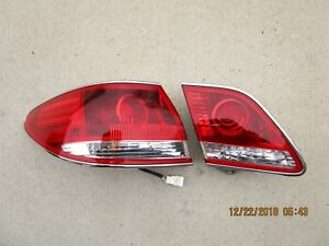 04 06 Lexus Es330 Driver Left Side Inner Trunk Tailgate Tail Light Tailight Oem